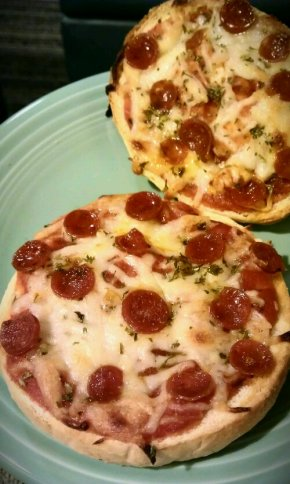 Because I really like pizza bagels and I really don't like giant boxes of expensive crap in my teenyfreezer.