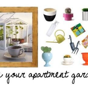 Love your apartment, love your apartmentgarden.