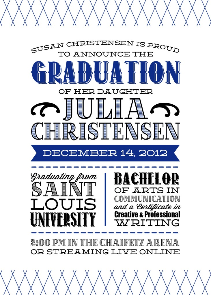 OhJuliaAnn (1) Graduation Announcement