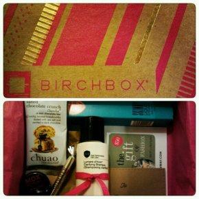 Birchbox No. 2: Number 4, Aerie, Mox Botanicals, Eyeko &Chuao