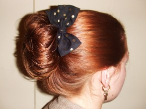 A bow in the hand is worth two in thehairbun